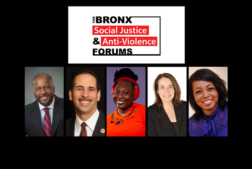 The Bronx Social Justice and Anti-Violence Forums: April 8th