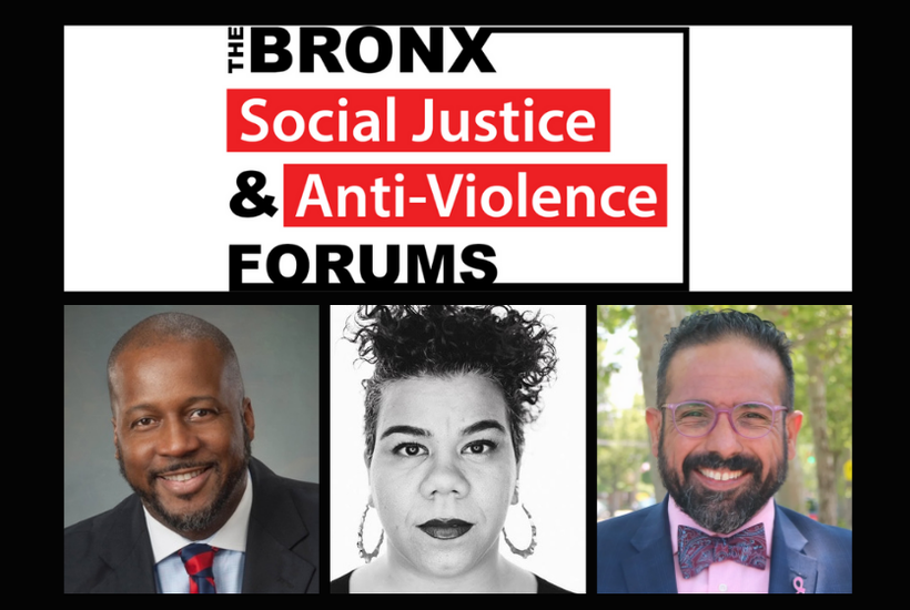 The Bronx Social Justice & Anti-Violence Forums: November 26th