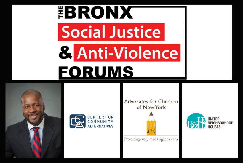 The Bronx Social Justice & Anti-Violence Forums: December 17th