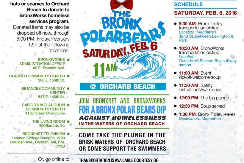 """BRONX POLAR BEARS 2016 AT ORCHARD BEACH"""