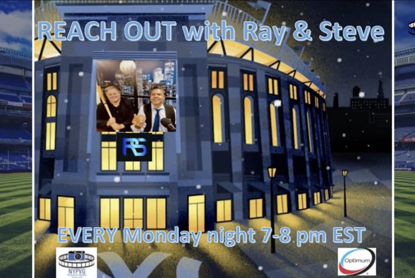 Reach out with Ray and Steve: Robby Robinson