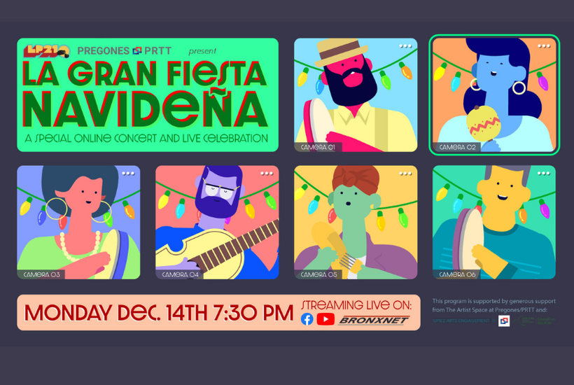 Pregones PRTT Spotlight on Creatives: Holiday Special - Fiesta Navideña